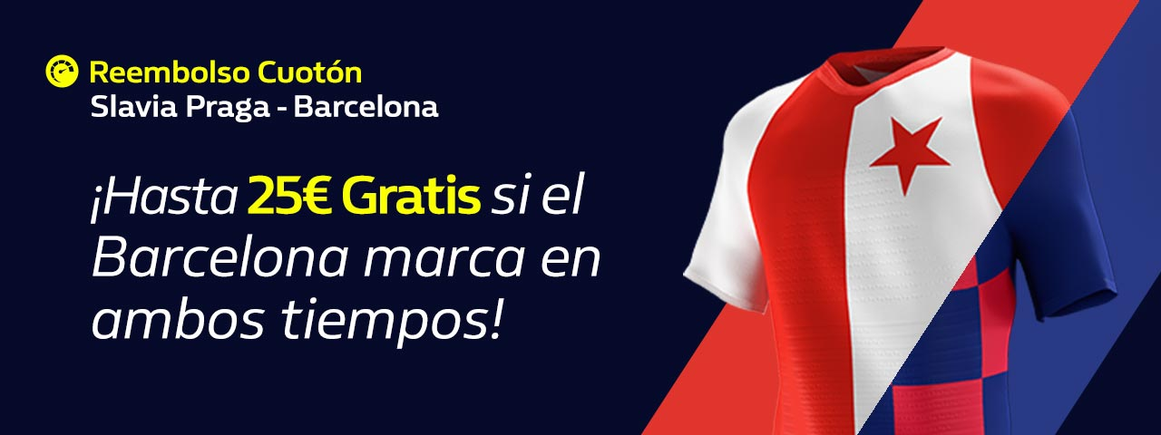 Apuesta Slavia Praga FC Barcelona