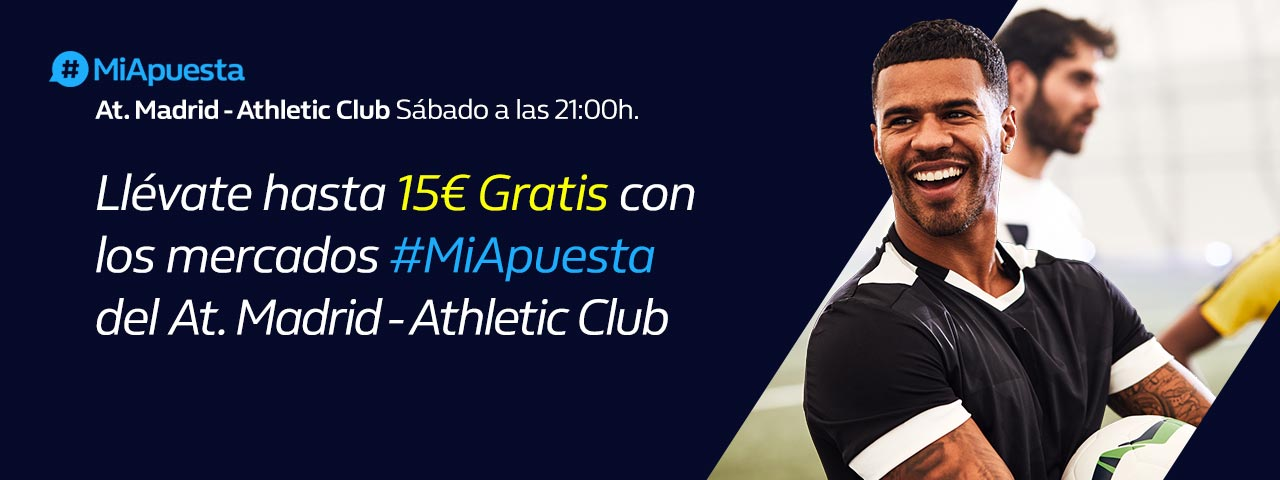 #MiApuesta At. Madrid Ath. Bilbao