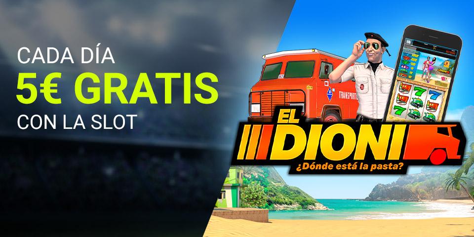 Slot El Dioni 5€ GRATIS