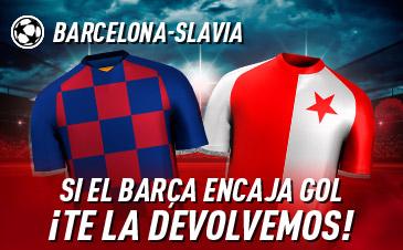Apuesta Gratis FC Barcelona Slavia Praga