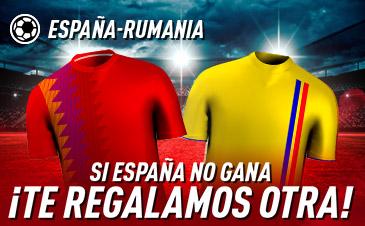 Apuesta España Rumanía Euro 2020