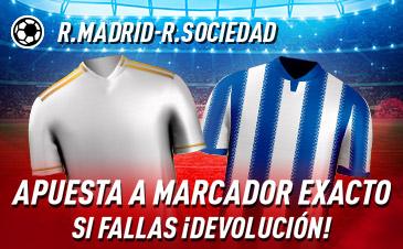 Apuesta Segura Real Madrid Sociedad