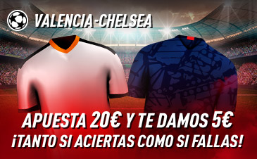Apuesta Champions League Valencia Chelsea