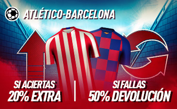 Apuestas At. Madrid FC Barcelona