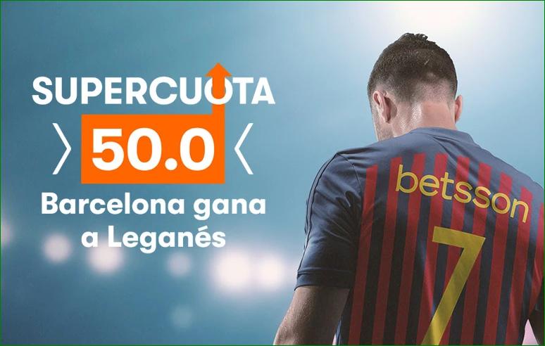 Apuesta Leganés FC Barcelona