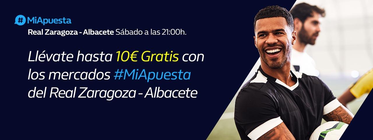 #MiApuesta Zaragoza - Albacete