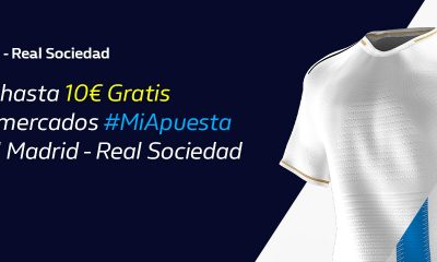 #MiApuesta William Hill Real Madrid Real Sociedad