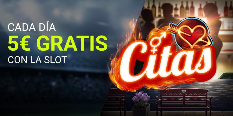 Slot Citas 5€ GRATIS