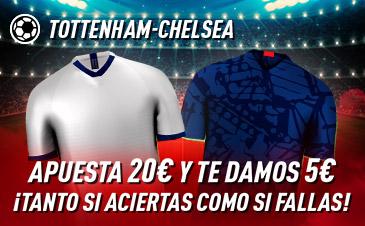 Apuestas Premier Tottenham Chelsea,