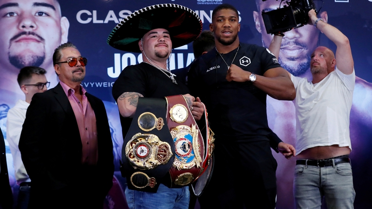 Apuestas Andy Ruiz Jr Anthony Joshua