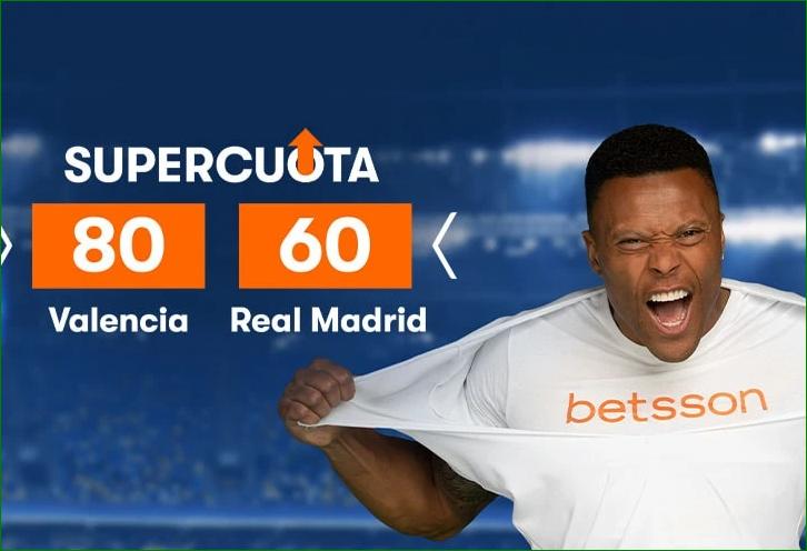 Apuesta Valencia Real Madrid LaLiga