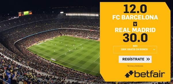 Apuesta Barça Madrid