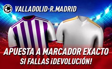 Apuestas LaLiga Valladolid Real Madrid