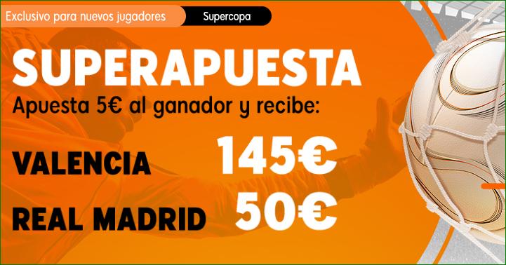 Apuestas Supercopa Valencia Madrid