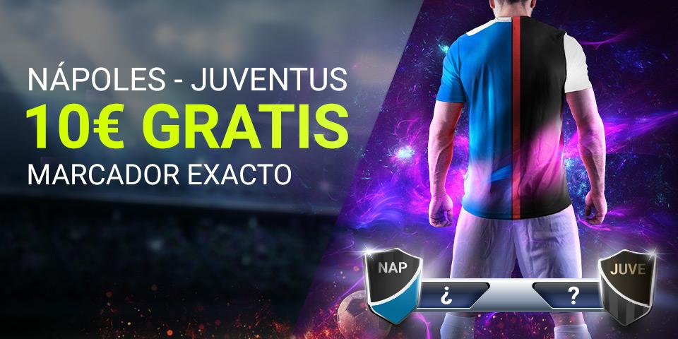 Apuestas Calcio Nápoles Juventus