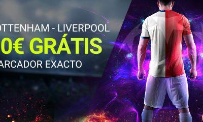 Apuesta Premier Tottenham Liverpool