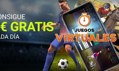 Apuestas Juegos Virtuales 5€ GRATIS