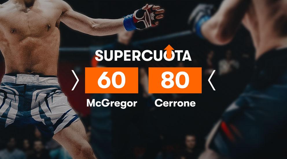 Apuestas UFC McGregor Cerrone