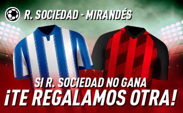 Apuestas Copa del Rey Real Sociedad Mirandés