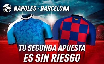 Apuestas Champions League Nápoles Barcelona