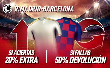 Apuestas LaLiga Madrid Barcelona