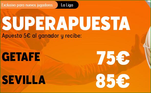 Apuestas LaLiga Getafe Sevilla