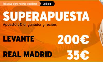 Apuestas LaLiga Levante Madrid