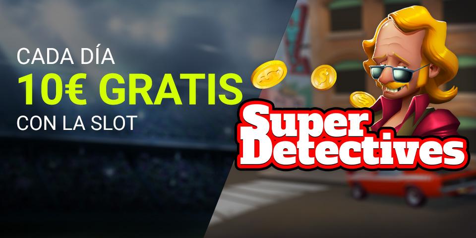 Luckia Casino Súper Detectives