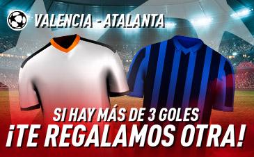 Apuestas Champions Valencia Atalanta