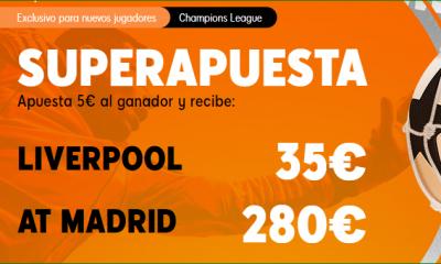 Apuestas Champions Liverpool Madrid