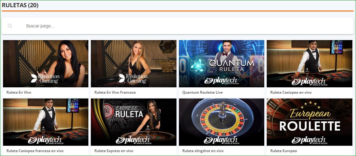 Betsson Casino Online Ruleta en vivo