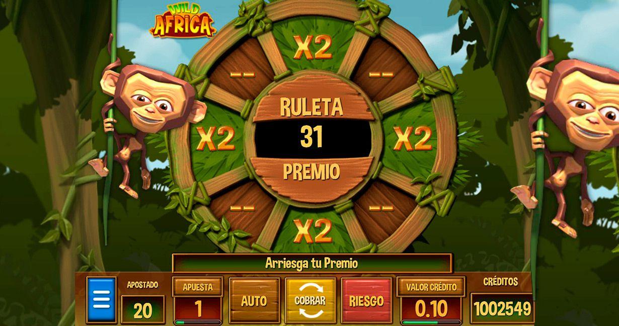 Análisis Wild Africa Codere