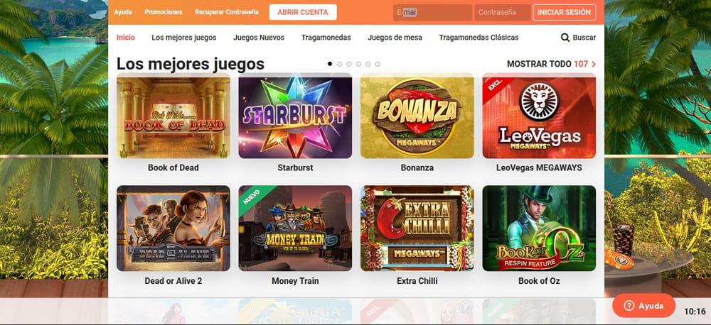 LeoVegas Casino online Chile