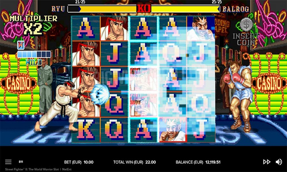 análisis Street Fighter 2 slot