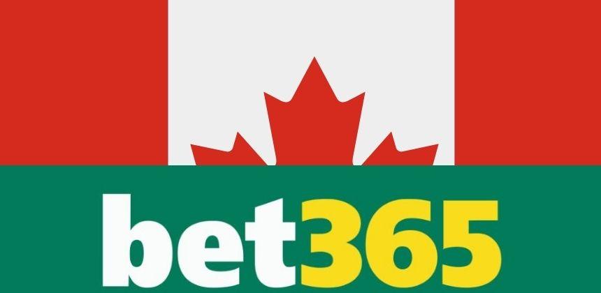 Welcome bonus bet365 Canada