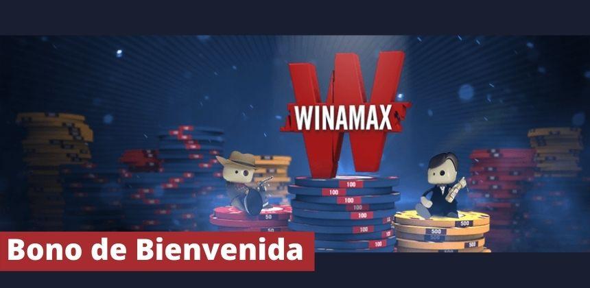 100€ Bono bienvenida Winamax