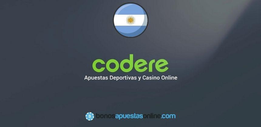 Bono de Bienvenida Codere Argentina