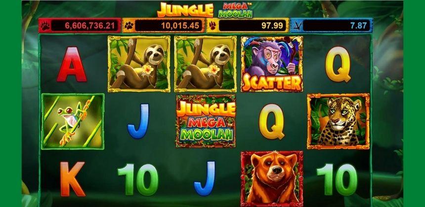 Jungle Mega Moolah Slot